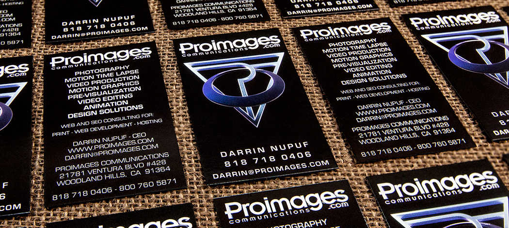 Proimages Business Cards